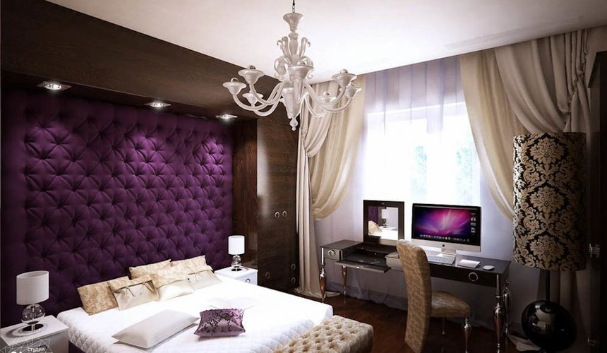 Дизайн интерьера однокомнатной квартиры в стиле арт деко по ул. Куйбышева 55 2