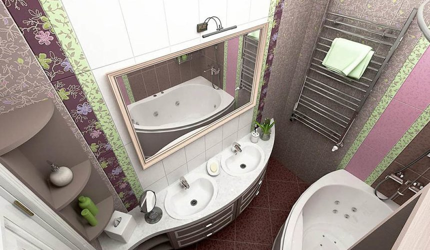Дизайн интерьера трехкомнатной квартиры по ул. Юмашева 1 8