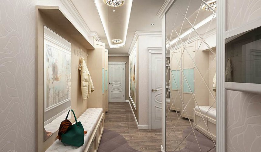 Дизайн интерьера трехкомнатной квартиры по ул. Юмашева 1 16