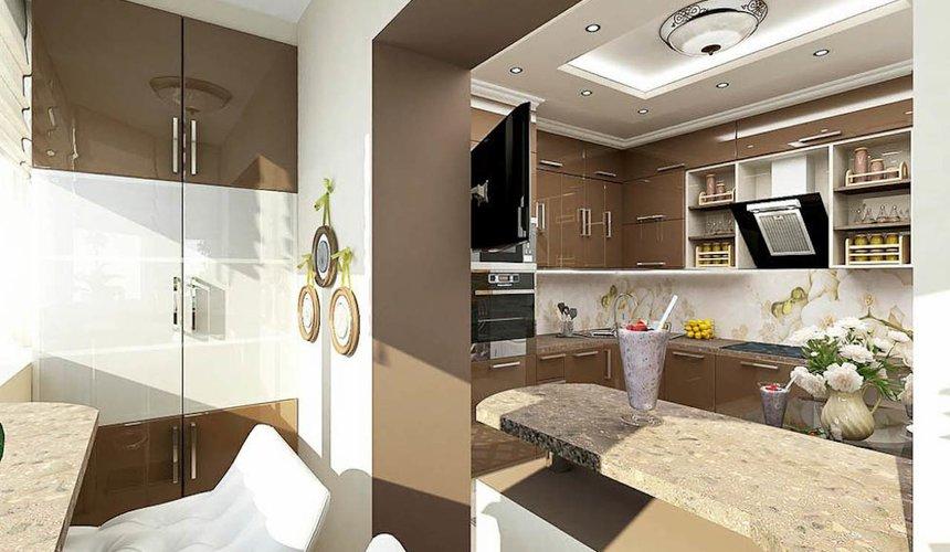 Дизайн интерьера трехкомнатной квартиры по ул. Юмашева 1 26