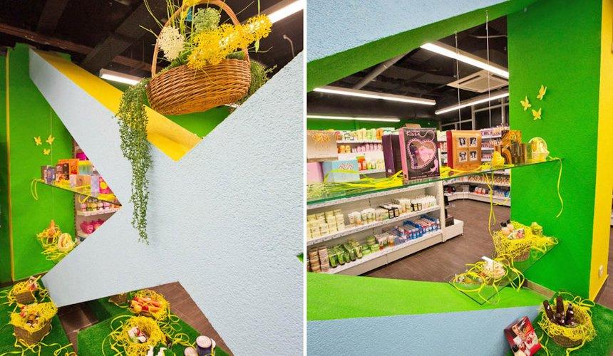 Дизайн интерьера магазина косметики и парфюмерии в ТЦ КИТ 4