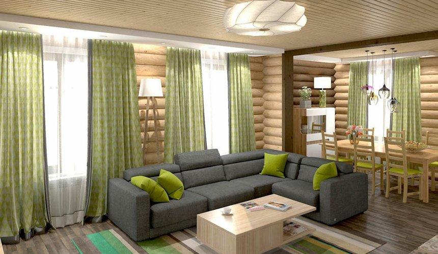Дизайн интерьера коттеджа в п. В. Сысерть  11