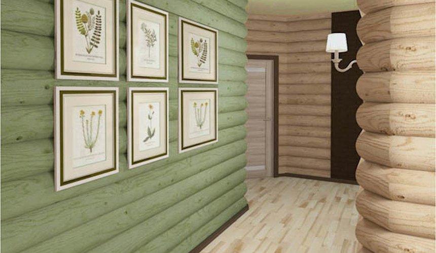Дизайн интерьера коттеджа в п. В. Сысерть  28