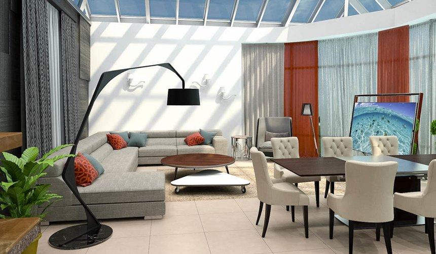 Дизайн интерьера коттеджа в п. Дубрава 3