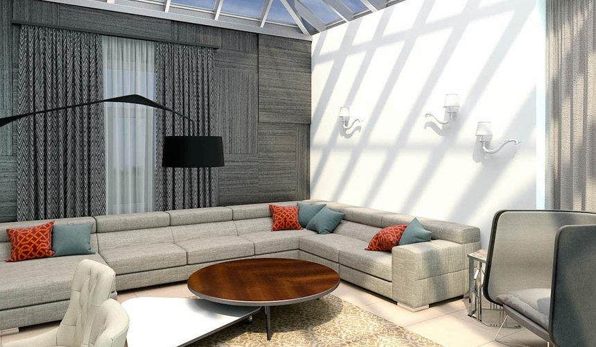 Дизайн интерьера коттеджа в п. Дубрава 7