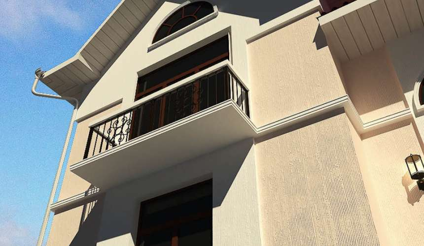 Эскиз дома в п. Курганово 7