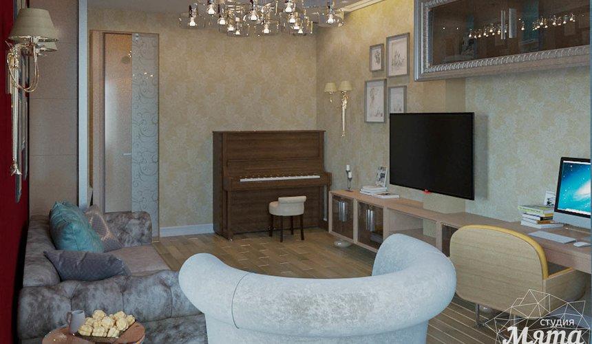 Дизайн интерьера и ремонт трехкомнатной квартиры в Карасьозерском 2 43
