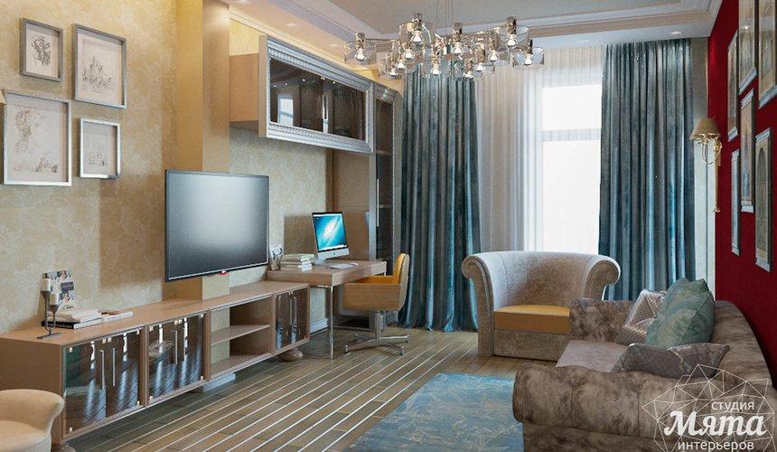 Дизайн интерьера и ремонт трехкомнатной квартиры в Карасьозерском 2 42