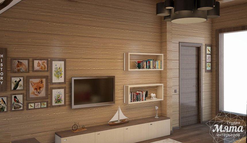 Дизайн интерьера коттеджа в п. Галактика  27