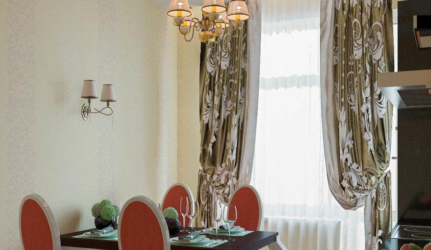 Дизайн интерьера и ремонт трехкомнатной квартиры в Карасьозерском 2 46