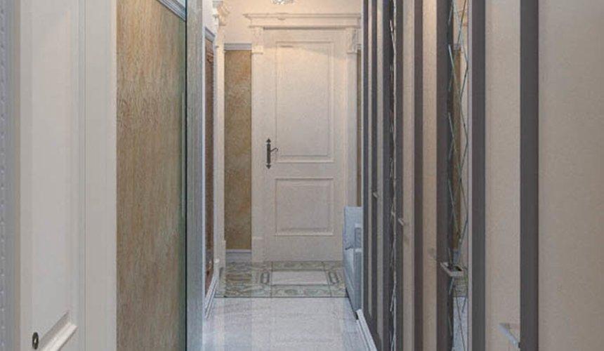 Дизайн интерьера и ремонт трехкомнатной квартиры в Карасьозерском 2 55