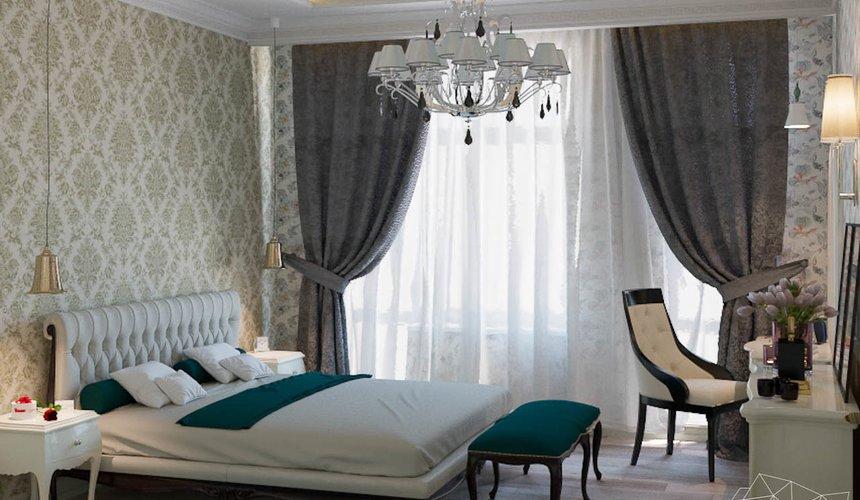 Дизайн интерьера и ремонт трехкомнатной квартиры в Карасьозерском 2 57