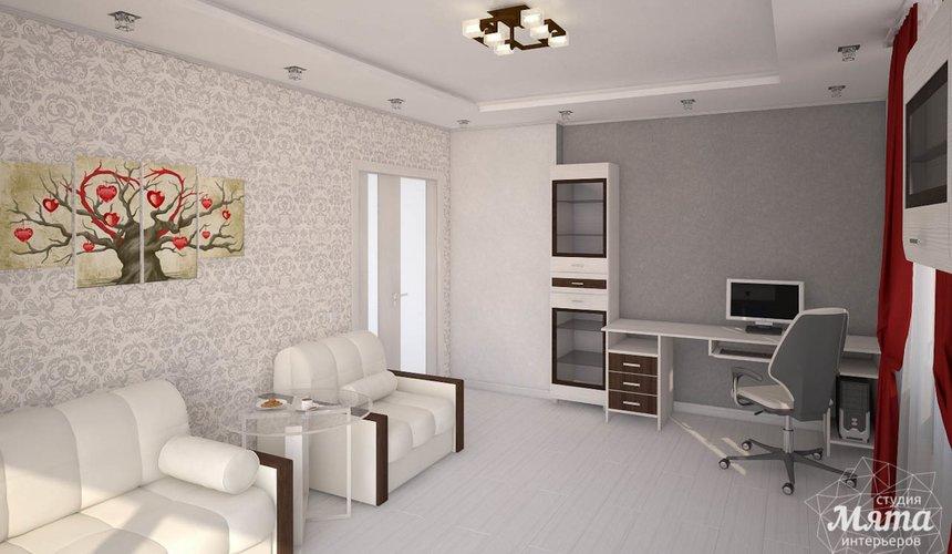 Дизайн интерьера  и ремонт трехкомнатной квартиры по ул. Машинная 44 41