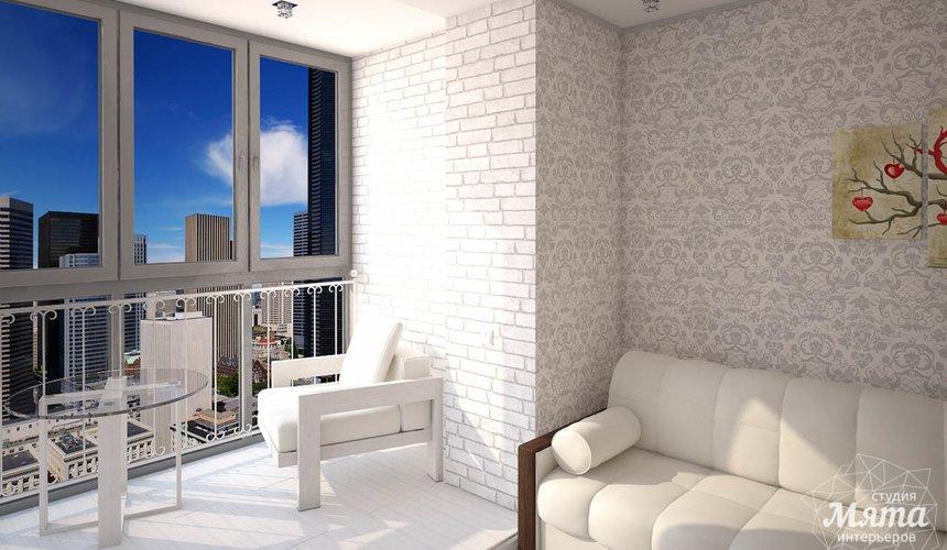 Дизайн интерьера  и ремонт трехкомнатной квартиры по ул. Машинная 44 42
