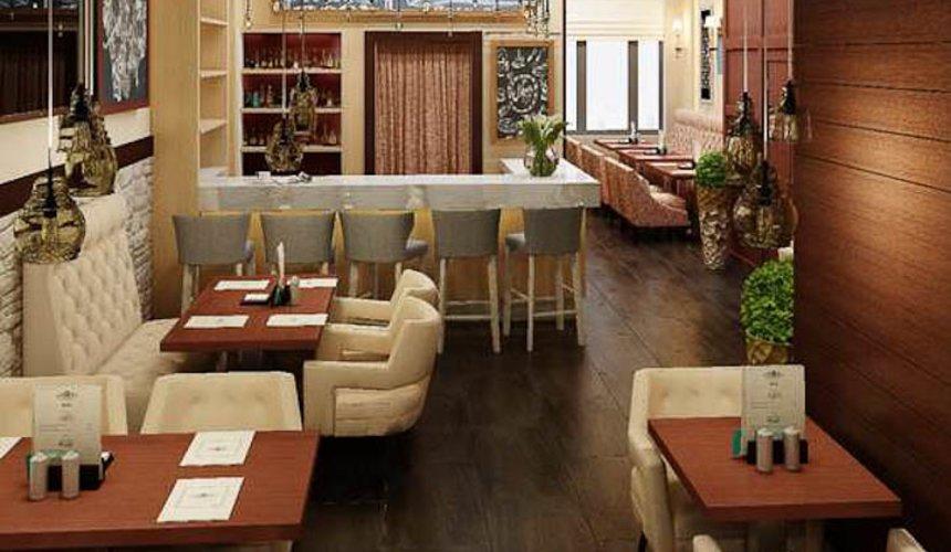 Дизайн интерьера кафе по ул. Малышева 12 7