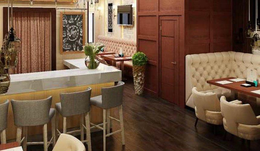 Дизайн интерьера кафе по ул. Малышева 12 14