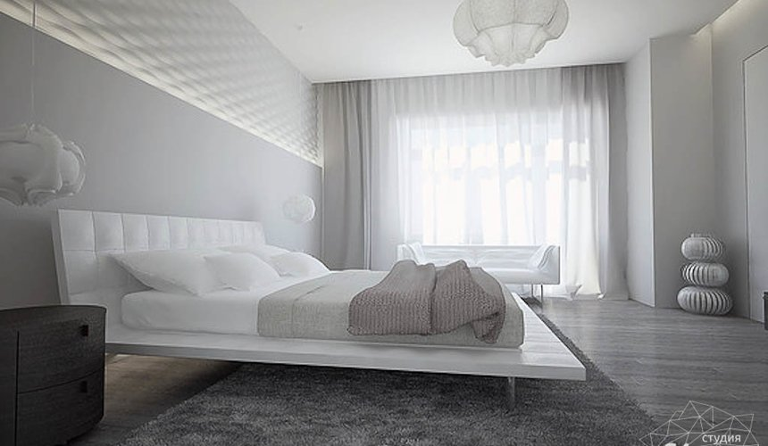 Дизайн интерьера трехкомнатной квартиры в Антаресе 2 11