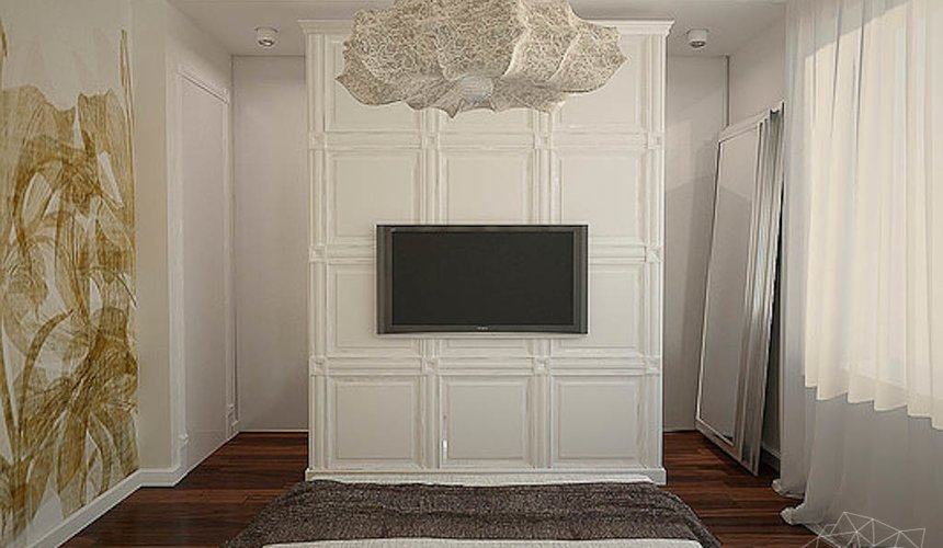 Дизайн интерьера трехкомнатной квартиры в Тихвине 8