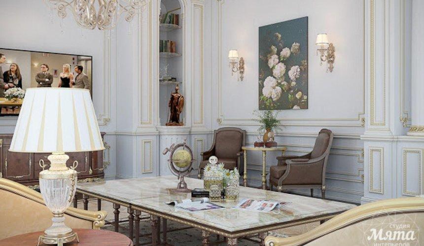 Дизайн интерьера коттеджа классическом стиле в Карасьозерске 2