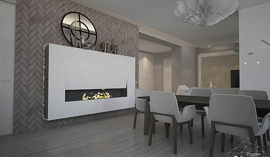 Дизайн интерьера трехкомнатной квартиры в Тихвине 2 6