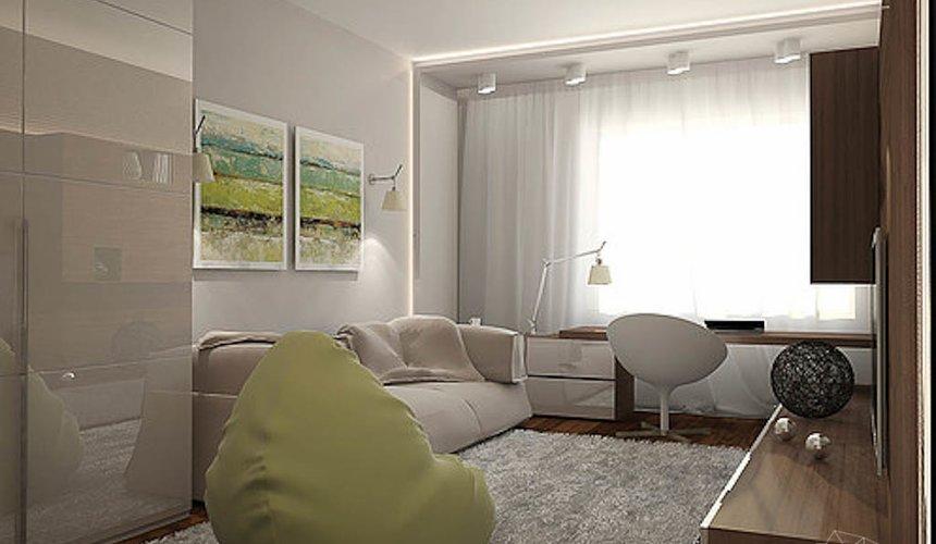 Дизайн интерьера трехкомнатной квартиры в Тихвине 17