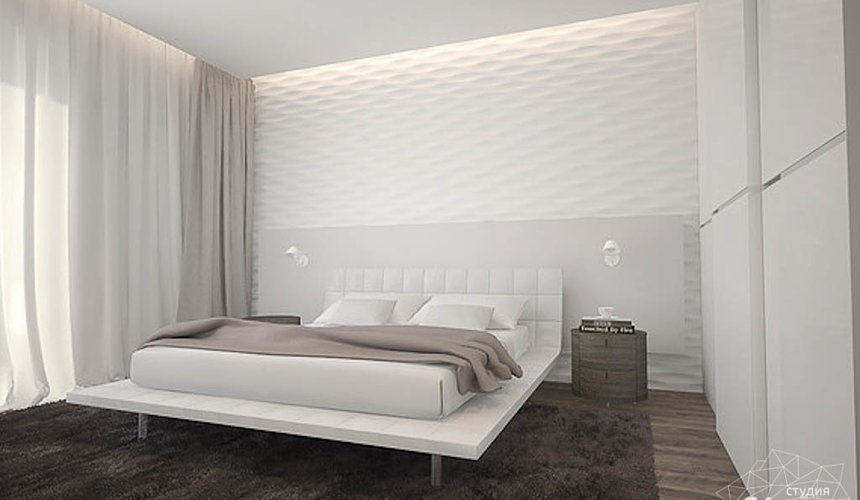 Дизайн интерьера трехкомнатной квартиры по ул. Юмашева 8 11