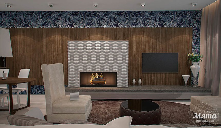 Дизайн интерьера трехкомнатной квартиры в Антаресе  4