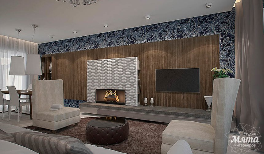 Дизайн интерьера трехкомнатной квартиры в Антаресе  5