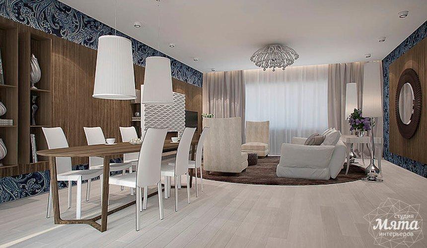 Дизайн интерьера трехкомнатной квартиры в Антаресе  8
