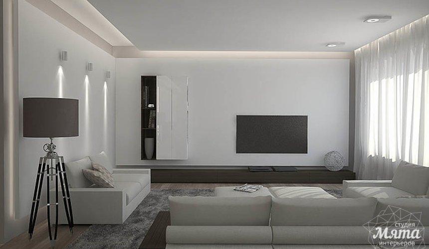 Дизайн интерьера трехкомнатной квартиры в Антаресе 2 4