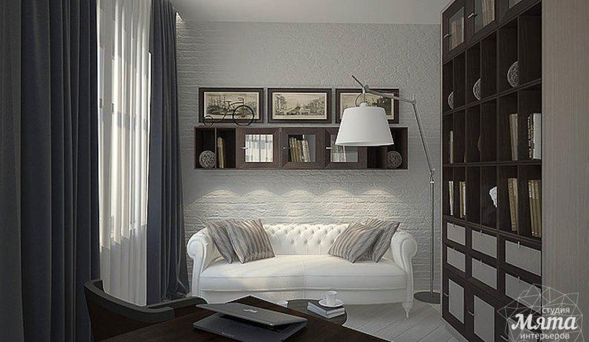 Дизайн интерьера трехкомнатной квартиры в Антаресе  10