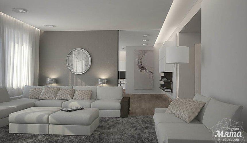 Дизайн интерьера трехкомнатной квартиры в Антаресе 2 3