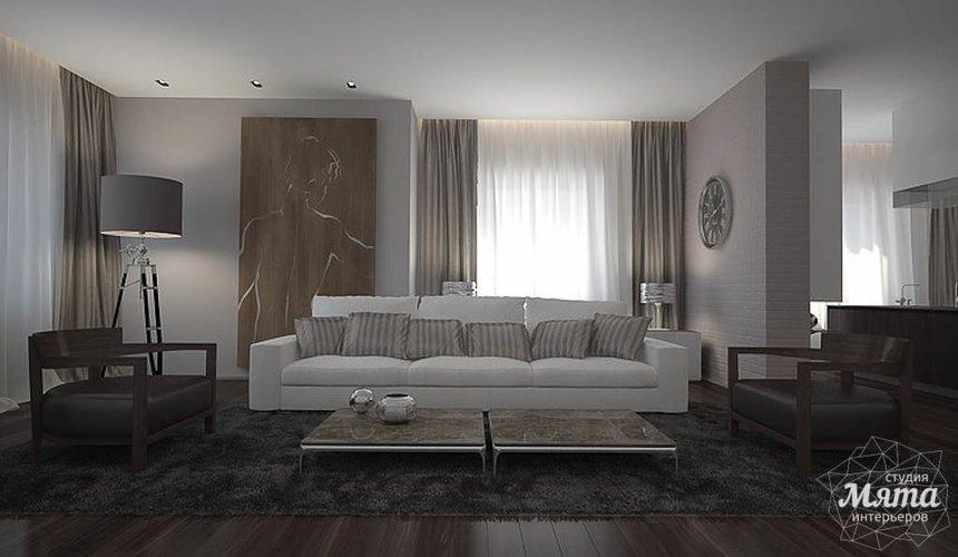 Дизайн интерьера коттеджа в п. Палникс 8
