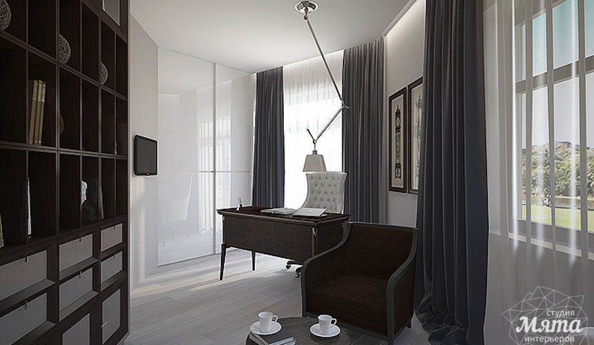 Дизайн интерьера трехкомнатной квартиры в Антаресе  13