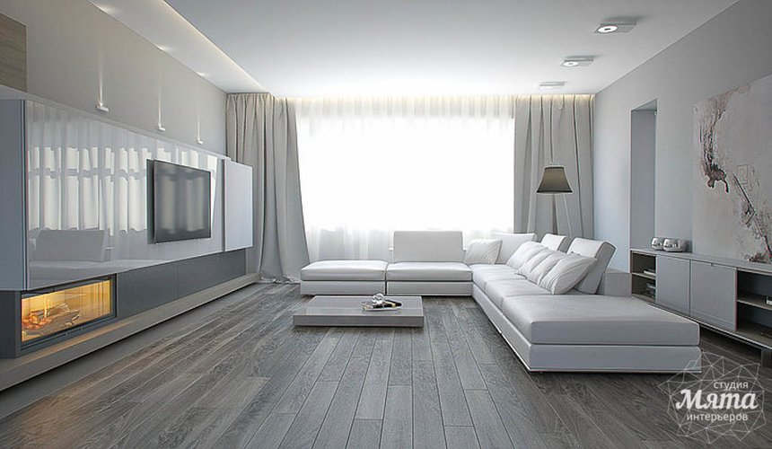 Дизайн интерьера двухкомнатной квартиры по ул. Жукова 14 6