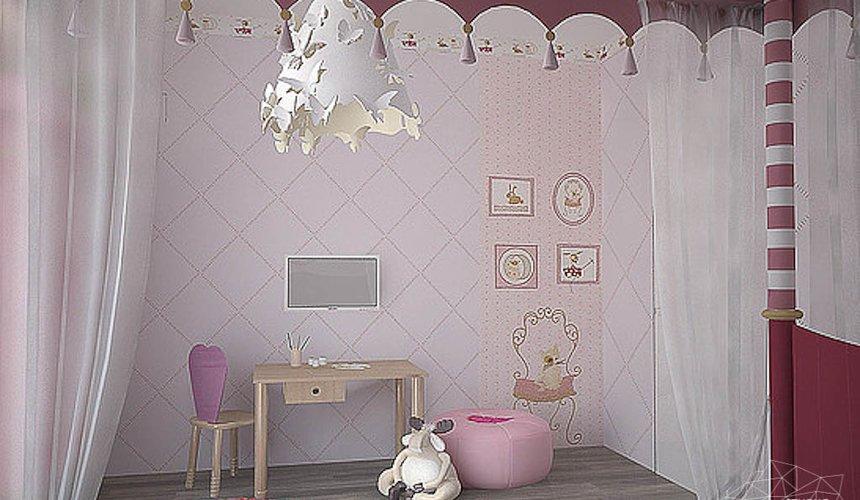 Дизайн интерьера трехкомнатной квартиры в Антаресе 2 15