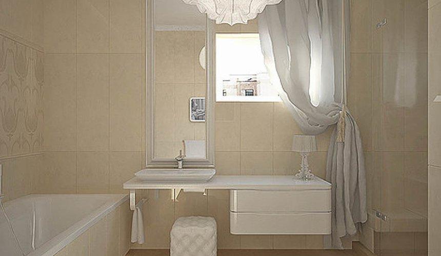 Дизайн интерьера трехкомнатной квартиры в Тихвине 21