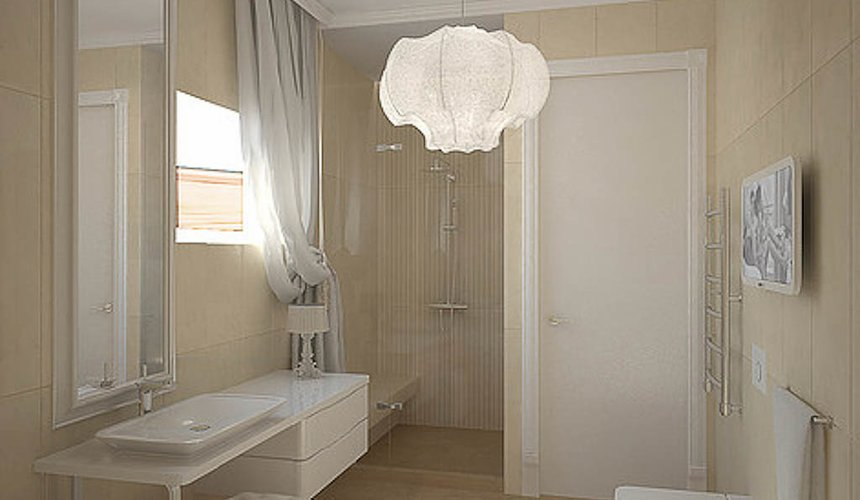 Дизайн интерьера трехкомнатной квартиры в Тихвине 22