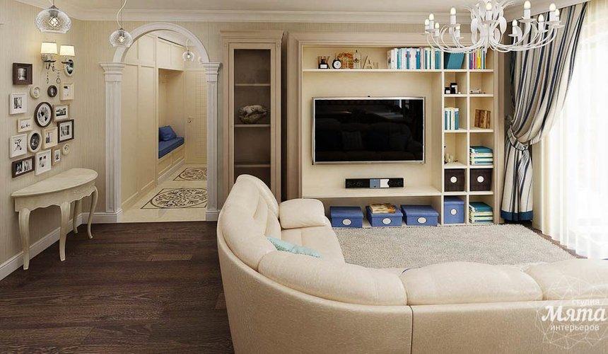 Дизайн интерьера однокомнатной квартиры по ул. Юмашева 10 3