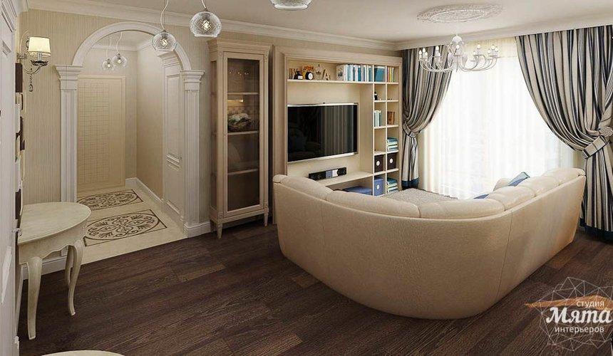 Дизайн интерьера однокомнатной квартиры по ул. Юмашева 10 4