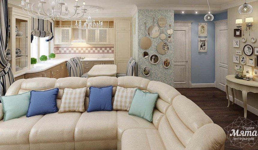 Дизайн интерьера однокомнатной квартиры по ул. Юмашева 10 5
