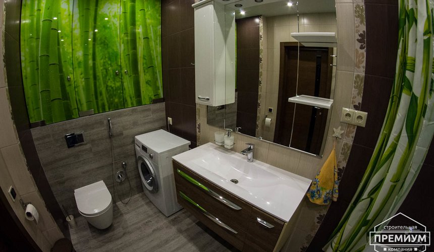 Дизайн интерьера и ремонт трехкомнатной квартиры по ул. Авиационная, 16  17