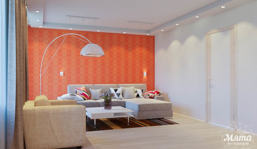 Дизайн интерьера трехкомнатной квартиры по ул. Победы 37 8
