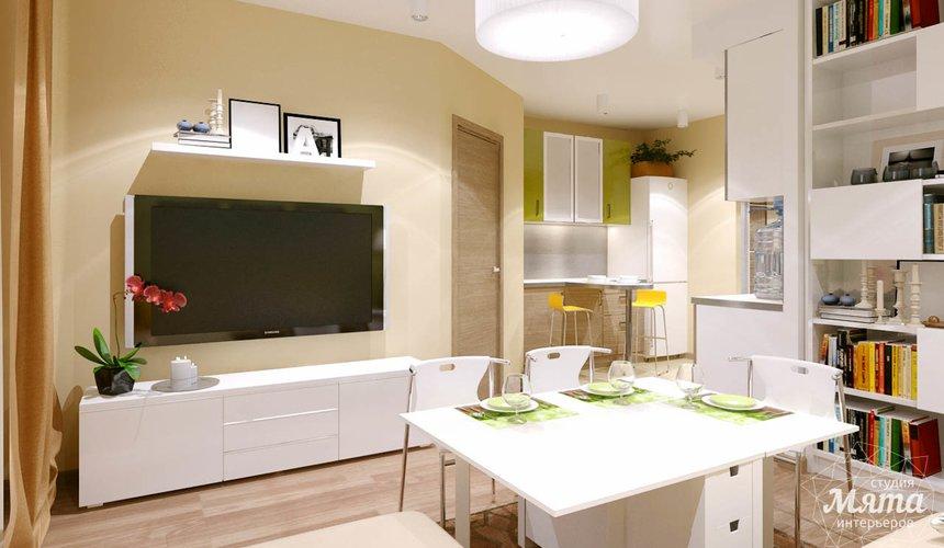 Дизайн интерьера двухкомнатной квартиры по ул. Машинная 40 17