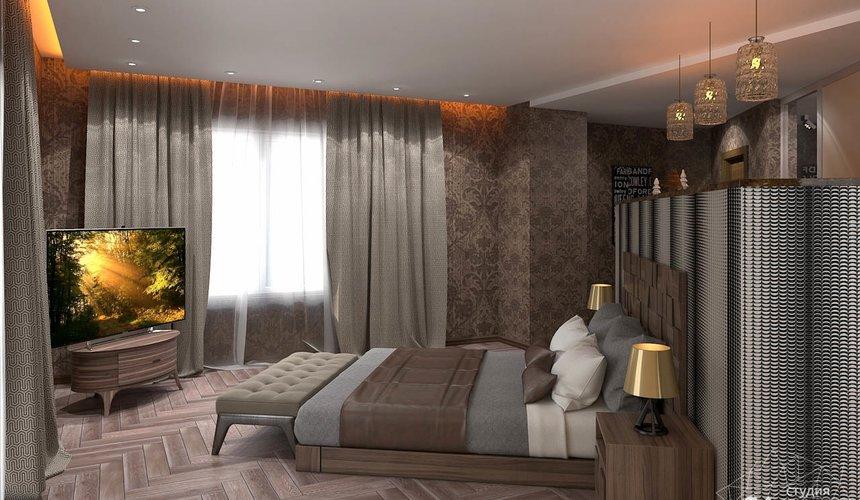 Дизайн интерьера коттеджа в п. Дубрава 34