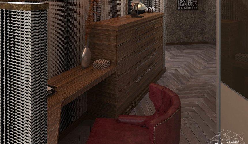 Дизайн интерьера коттеджа в п. Дубрава 35
