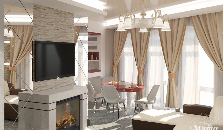 Дизайн интерьера трехкомнатной квартиры по ул. Фурманова 114 3