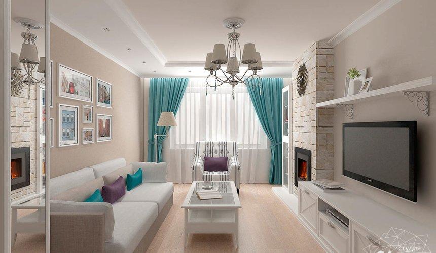 Дизайн интерьера двухкомнатной квартиры по ул. Шаумяна 93 2