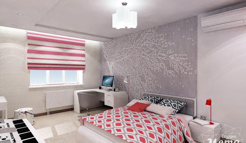 Дизайн интерьера и ремонт трехкомнатной квартиры по ул. Авиационная, 16  80