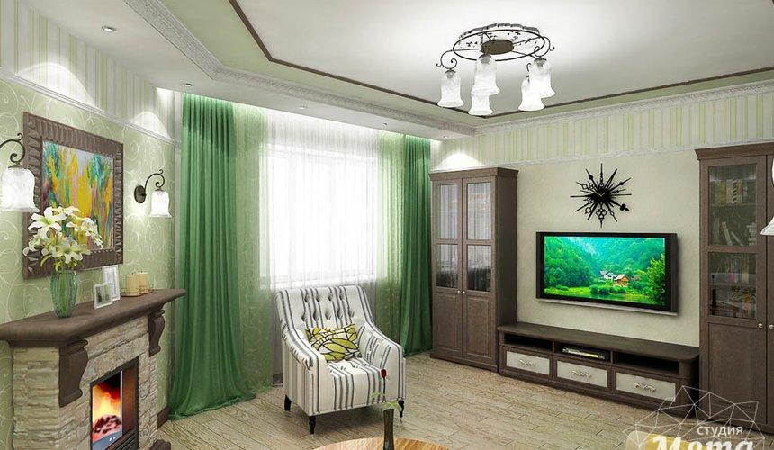 Дизайн интерьера и ремонт трехкомнатной квартиры по ул. Авиационная, 16  61